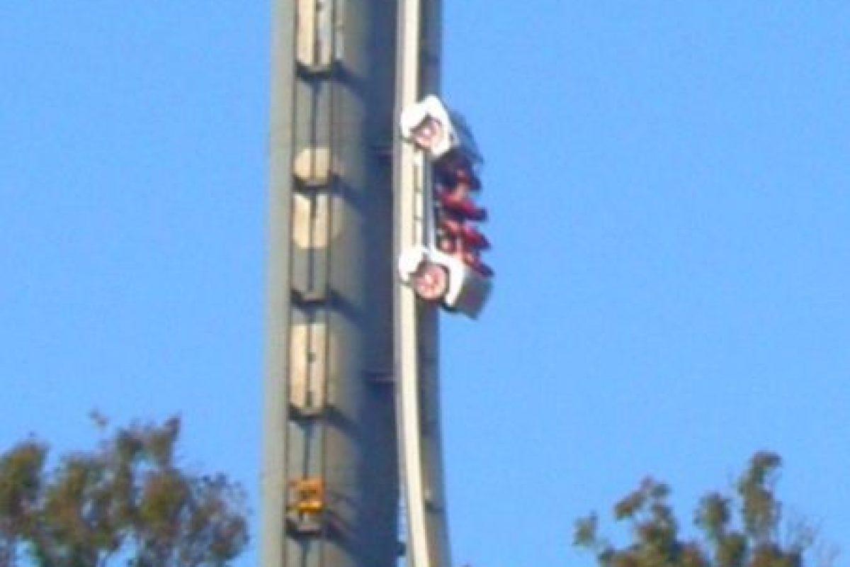 Parque: Dreamworld. Localización: Gold Coast, Queensland, Australia. Altura: 115 m. Velocidad: 161 km/h. Longitud: 376 m. Caída: 100 m. Foto:Wikimedia. Imagen Por: