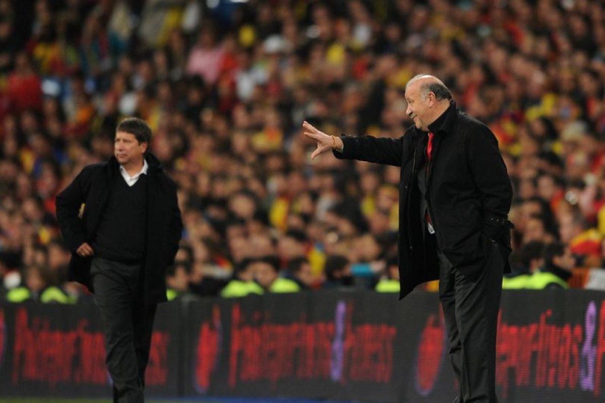 Hernán (izquierda) en un encuentro con Colombia en 2011. Foto:Getty Images. Imagen Por: