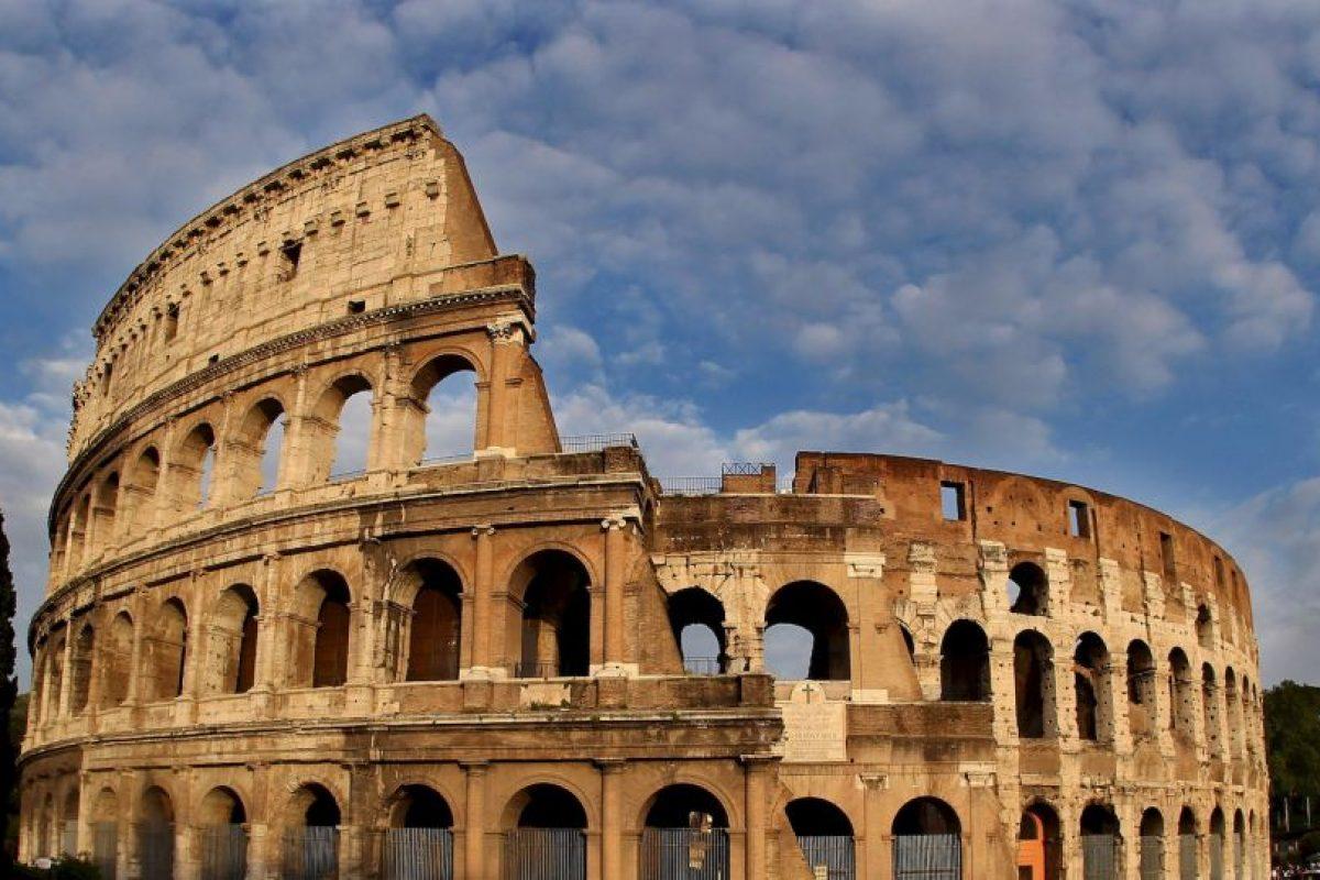 """""""No puedes escribir sobre una pared histórica"""", reclamó la directora del Coliseo Foto:Getty Images. Imagen Por:"""