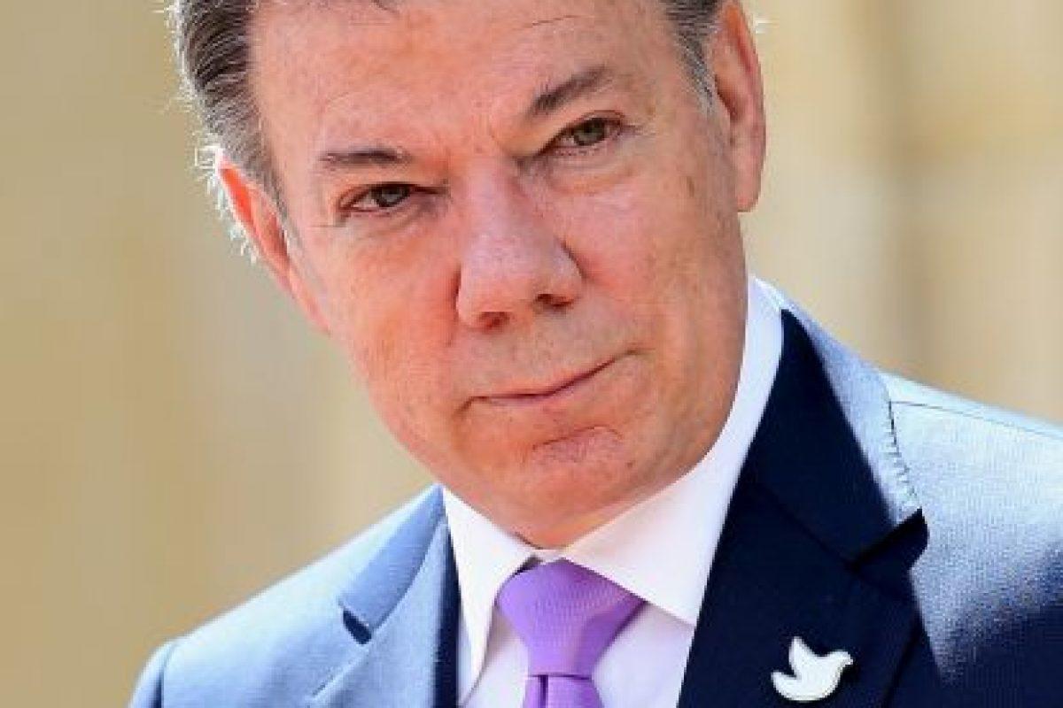 Juan Manuel Santos: 2014, en la visita del Príncipe Carlos a Colombia Foto:Getty Images. Imagen Por: