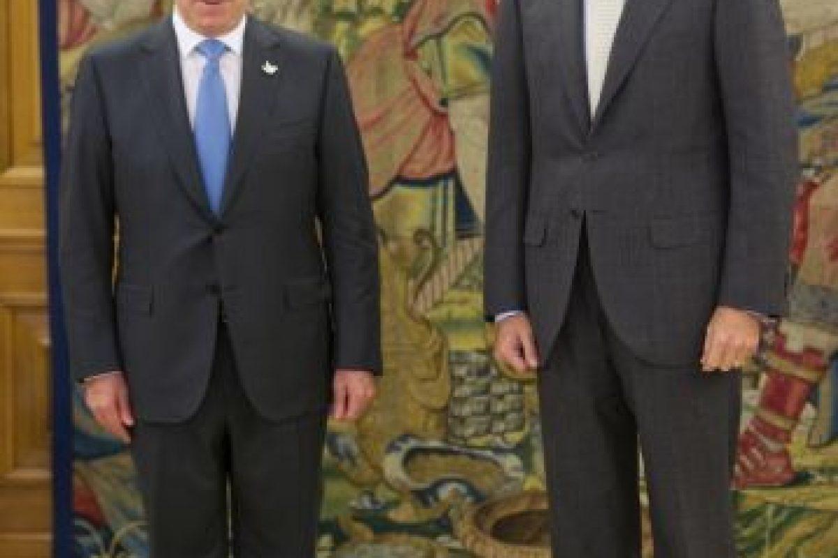 Juan Manuel Santos: En reunión con el Rey Felipe VI de España Foto:Getty Images. Imagen Por: