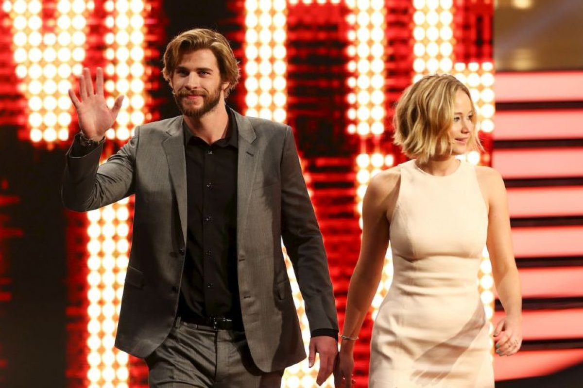 Liam Hemsworth y Jennifer Lawrence Foto: Getty Images. Imagen Por: