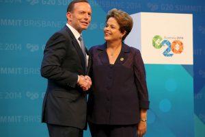 Dilma Rousseff: 2014, en la cumbre del G20 Foto:Getty Images. Imagen Por: