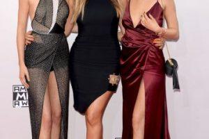 Kendall Jenner, Khloe Kardashian y Kylie Jenner Foto:Getty Images. Imagen Por: