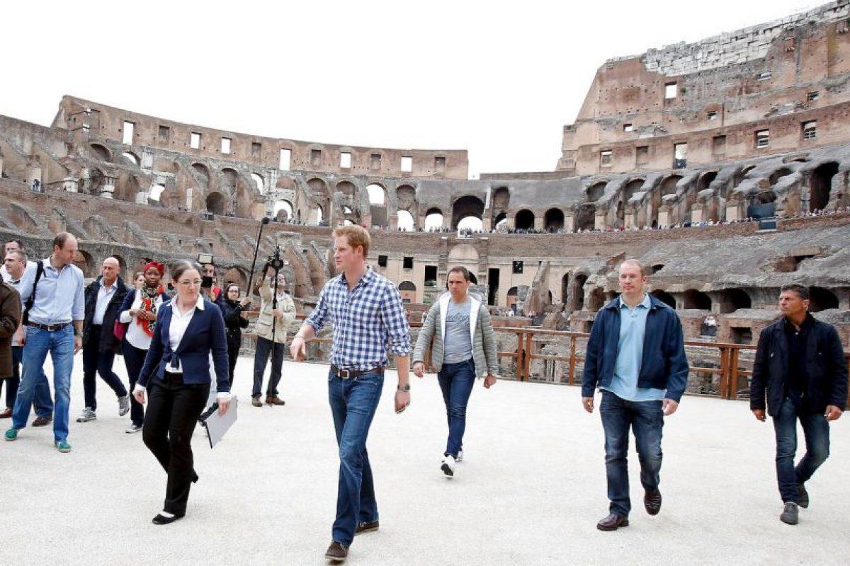 El Príncipe Harry de Inglaterra también ha visitado el histórico lugar Foto:Getty Images. Imagen Por: