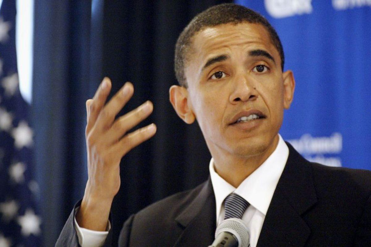 Barack Obama: 2004, cuando era candidato a senador Foto:Getty Images. Imagen Por: