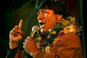 Evo Morales: 2005, como candidato Foto: Getty Images. Imagen Por: