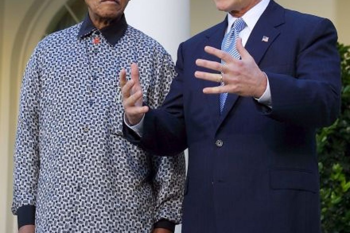 El expresidente de Sudáfrica, Nelson Mandela Foto:Getty Images. Imagen Por: