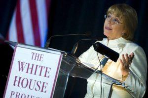 Michelle Bachelet, presidenta de Chile: 2006, en Washington Foto:Getty Images. Imagen Por: