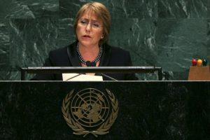 2006, en la Asamblea General de las Naciones Unidas Foto:Getty Images. Imagen Por: