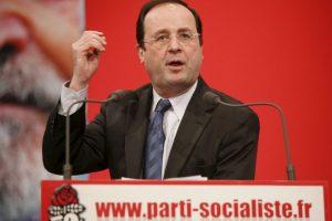 Francois Hollande: 2007, como líder del partido socialista Foto:Getty Images. Imagen Por: