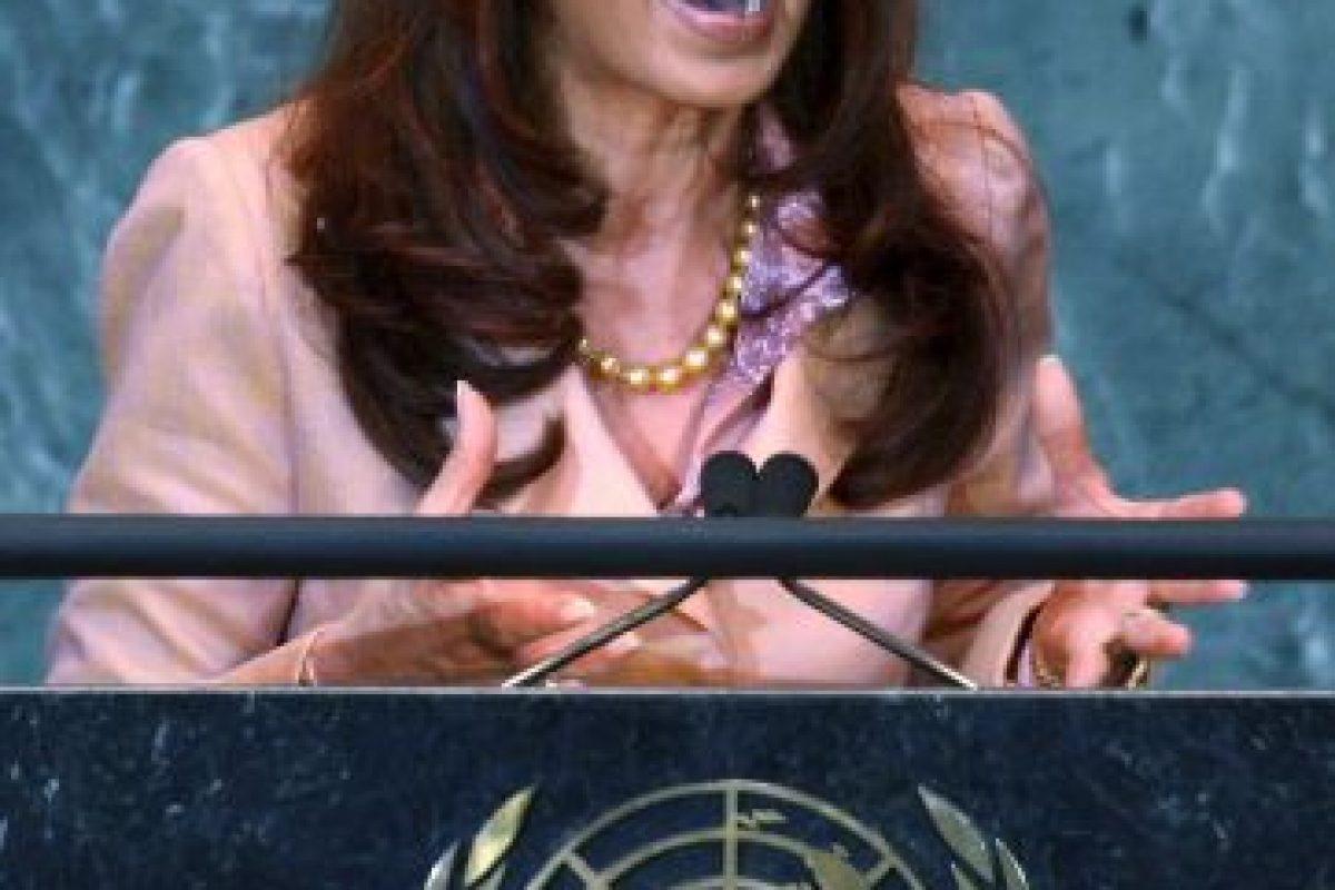 Cristina Fernández de Kirchnner: 2008, Asamblea General de las Naciones Unidas Foto:Getty Images. Imagen Por: