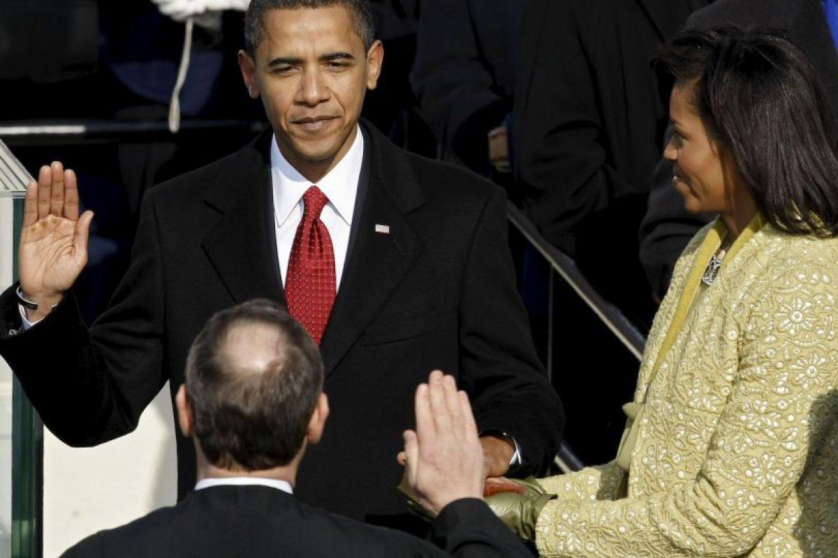 Barack Obama, 2009, inicio de su primer mandato Foto:Getty Images. Imagen Por: