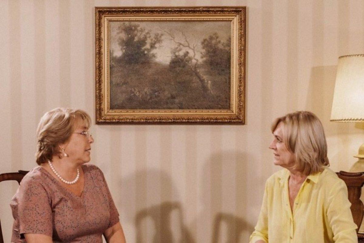 Las dos últimas candidatas a la presidencia de la República, Michelle Bachelet y Evelyn Matthei. Foto:Agencia UNO. Imagen Por: