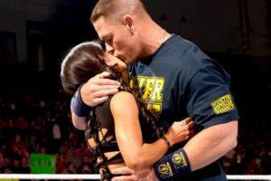 AJ Lee y John Cena Foto:WWE. Imagen Por: