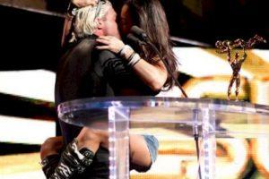 Dolph Ziggler y AJ Lee Foto:WWE. Imagen Por:
