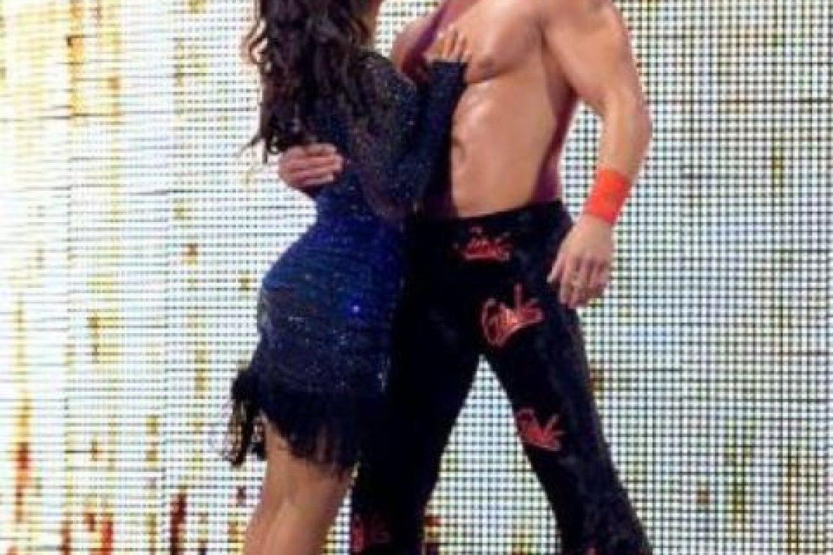 Layla y Fandango Foto:WWE. Imagen Por: