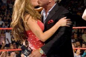 Maria y Ric Flair Foto:WWE. Imagen Por: