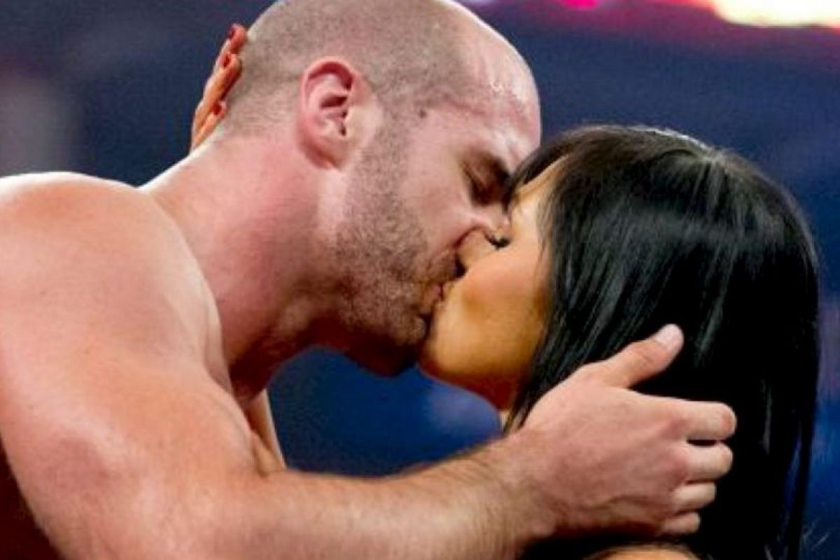 Cesaro y Aksana Foto:WWE. Imagen Por:
