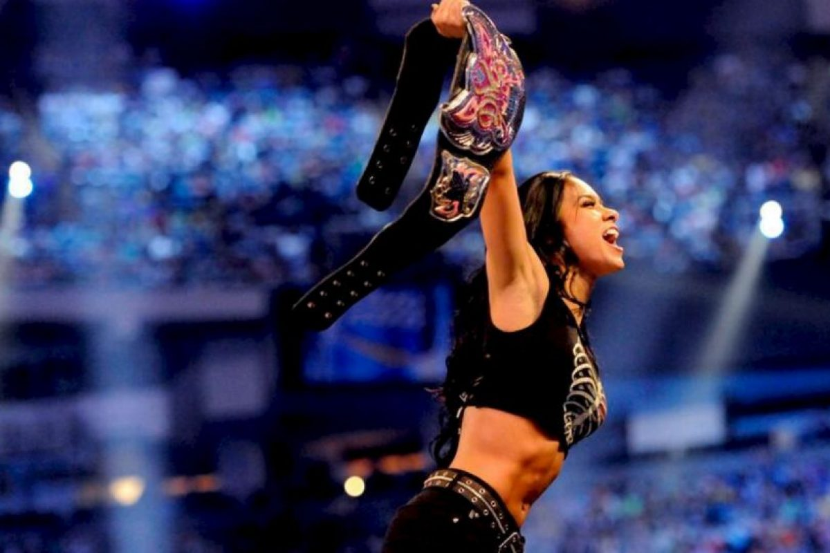 Ha sido Campeona de las Divas en tres ocasiones Foto:WWE. Imagen Por: