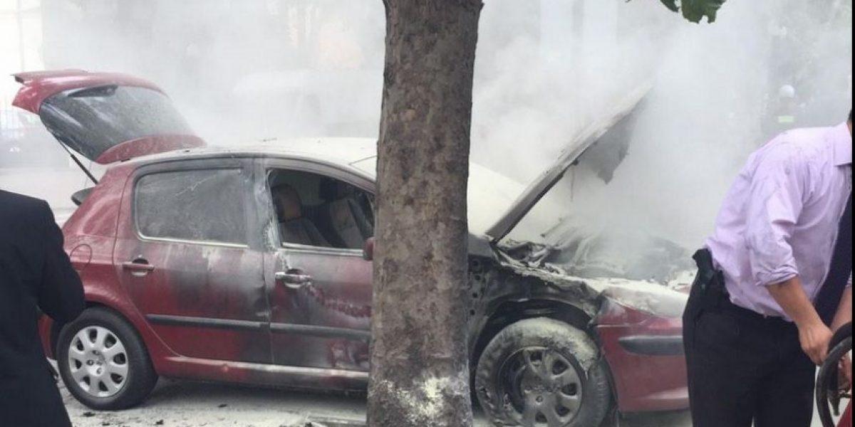 Atacaron cuartel de la PDI con 5 bombas molotov: hay dos funcionarios heridos