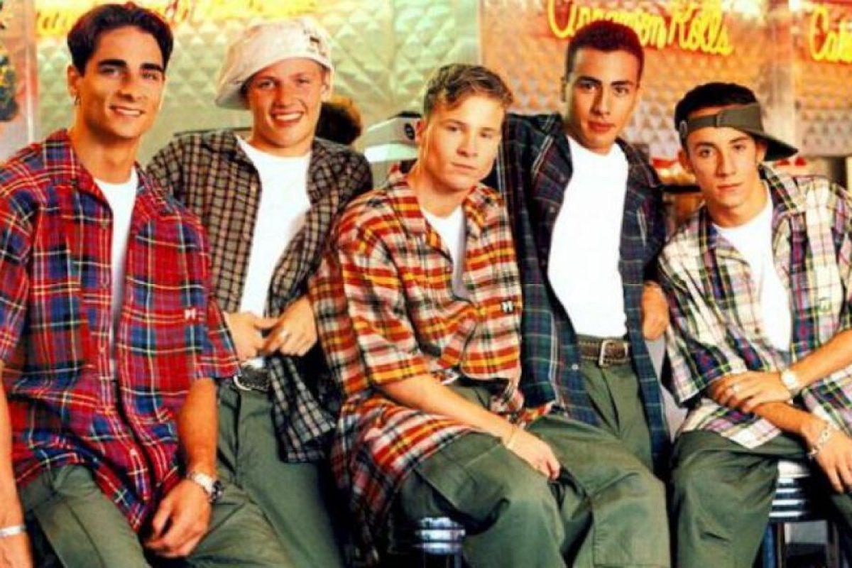 """""""Backstreet Boys"""" Foto:the90club.wordpress.com. Imagen Por:"""