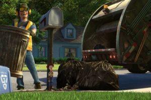 """8.- Sid realizó un cameo en """"Toy Story 3"""", aparece como el hombre que recoge la basura. Foto:Twitter. Imagen Por:"""