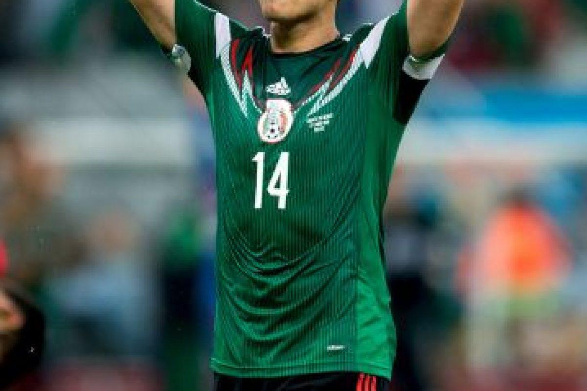 """""""Chicharito"""" es delantero del Real Madrid de España a sus 26 años de edad. Foto:Getty Images. Imagen Por:"""