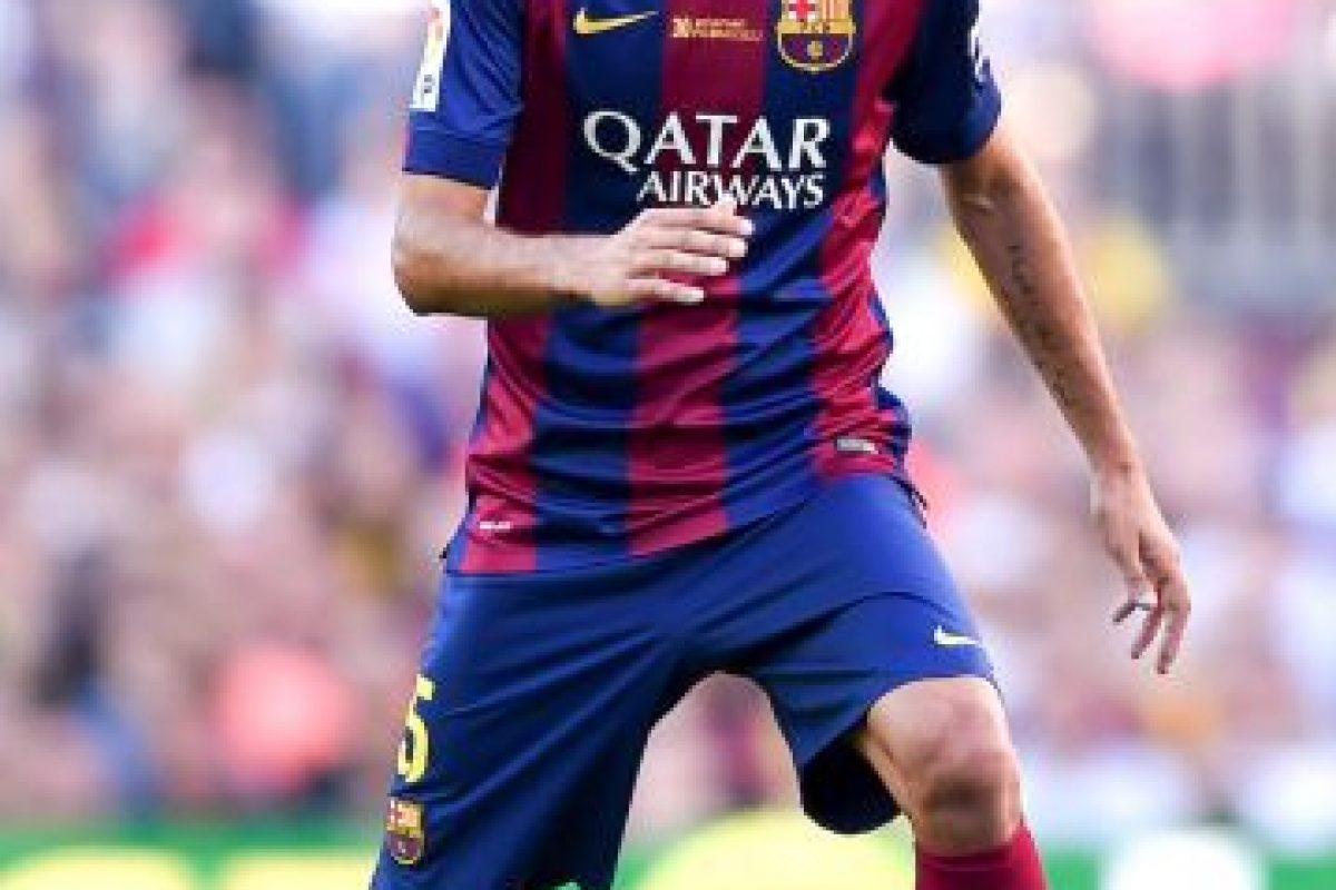 Sergio Busquets (España) Foto:Getty Images. Imagen Por: