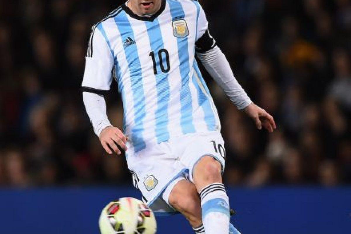 Messi es el máximo goleador de la Liga española, todos anotados con el Barcelona. Foto:Getty Images. Imagen Por: