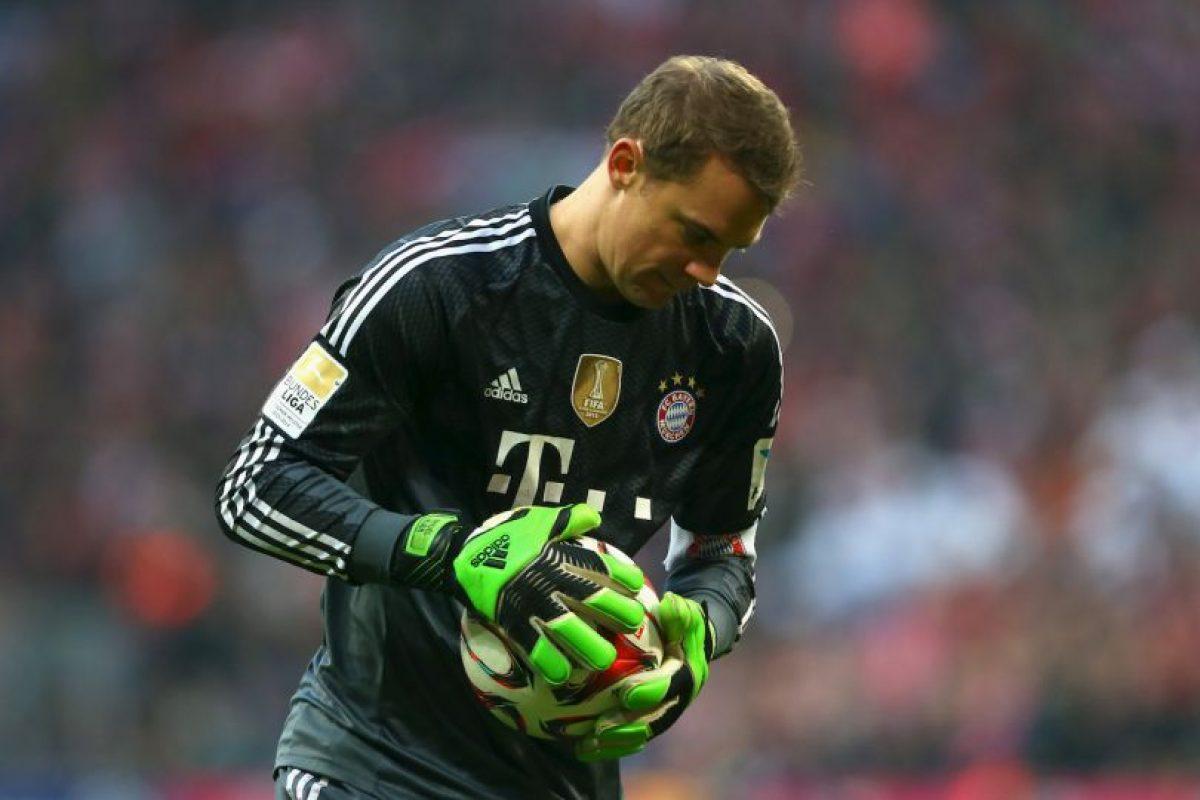El portero alemán Manuel Neuer Foto:Getty. Imagen Por: