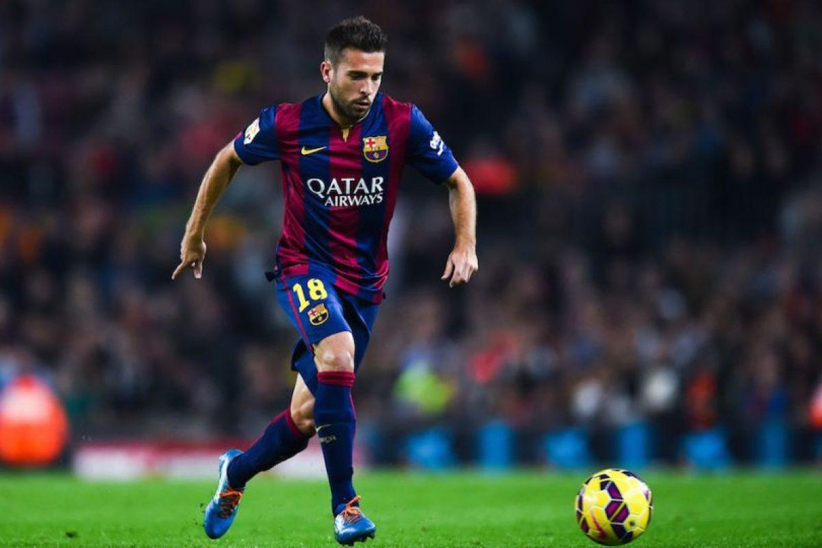 Jordi Alba (España) Foto:Getty Images. Imagen Por: