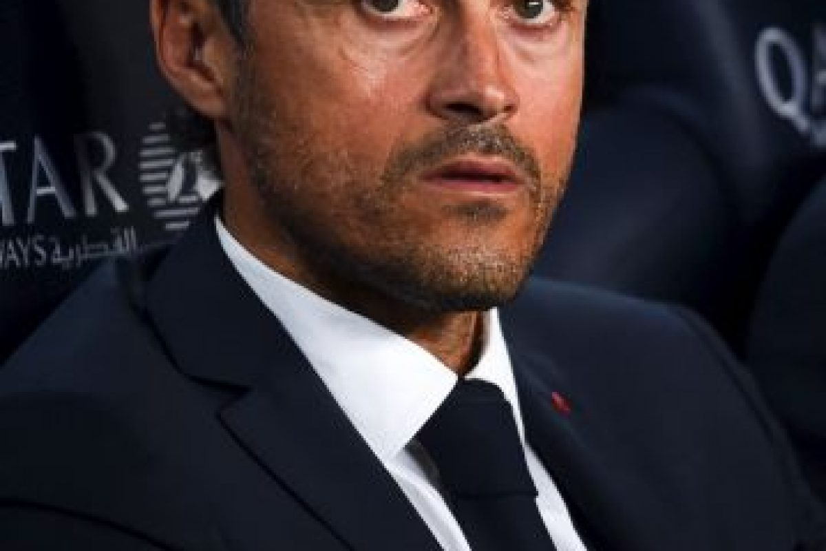 Luis Enrique, director técnico español del Barcelona. Foto:Getty Images. Imagen Por: