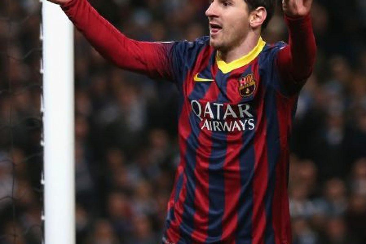 Messi ha conseguido sus goles con el FC Barcelona de España. Foto:Getty Images. Imagen Por: