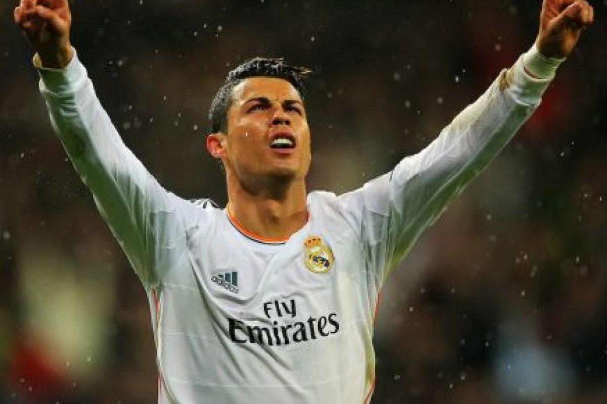 El portugués Cristiano Ronaldo está a un solo gol de Raúl y Messi. Foto:Getty Images. Imagen Por: