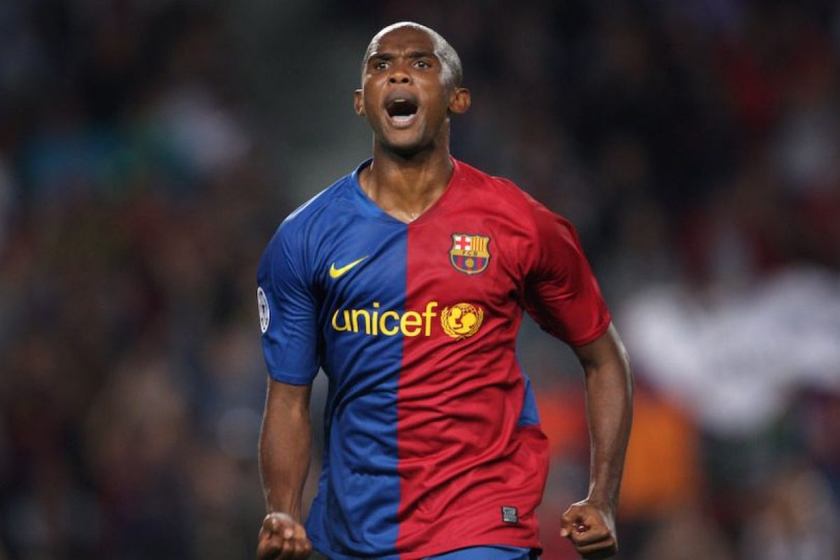Eto'o anotó con el Mallorca, Barcelona, Inter de Milán y Chelsea. Foto:Getty Images. Imagen Por: