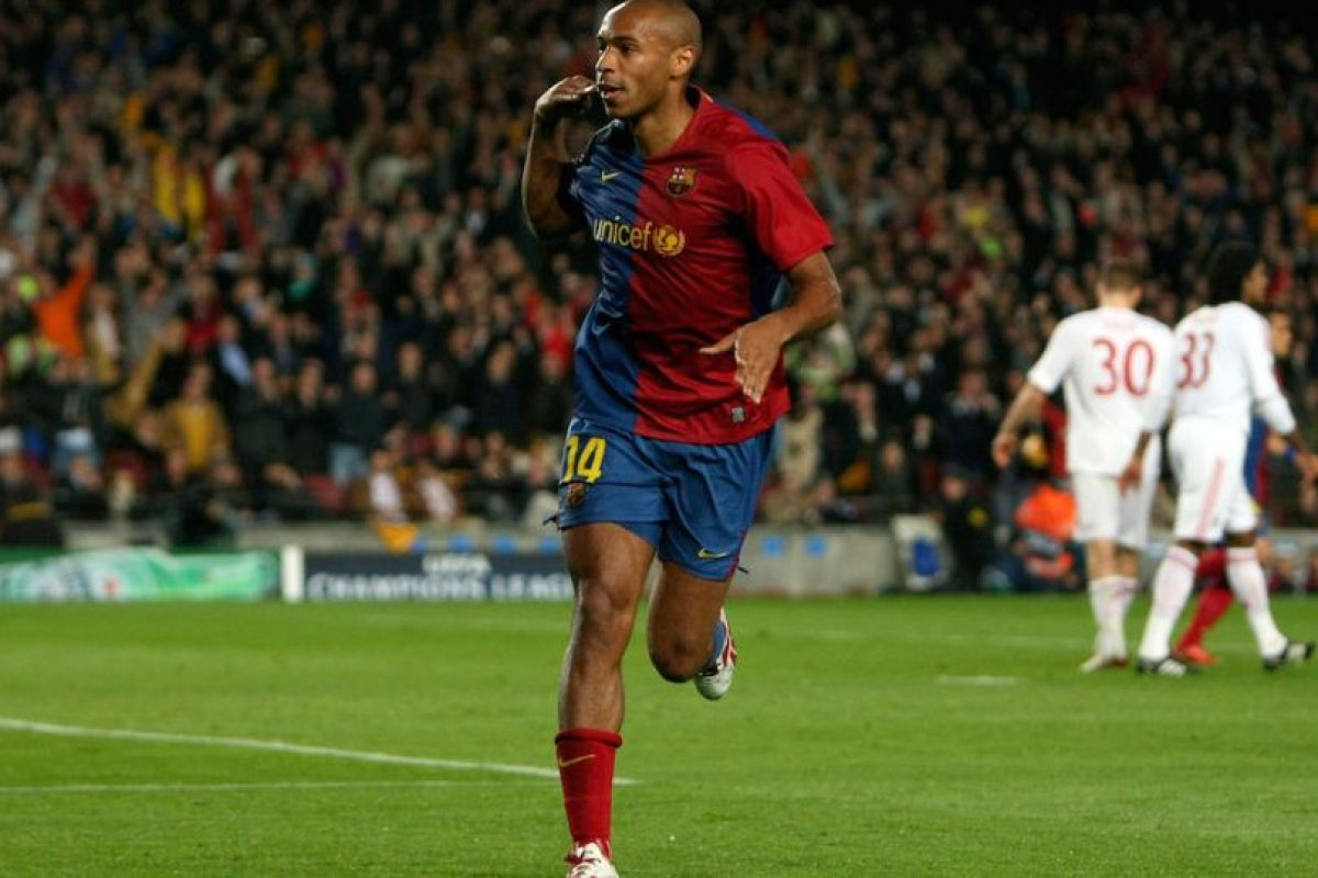 50 goles – Thierry Henry (Francia) Foto:Getty Images. Imagen Por:
