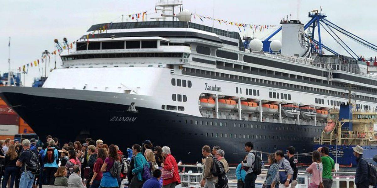 Llegó a Valparaíso el crucero más grande del mundo