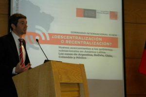 Camilo Vial, secretario general del Instituto Chileno de Estudios Municipales. Foto:Gentileza ICHEM. Imagen Por: