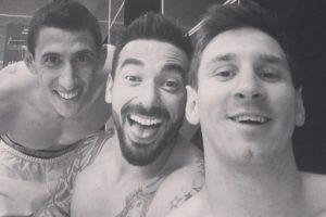 Ángel Di María, Ezequiel Lavezzi y Leo Messi Foto:Getty Images. Imagen Por: