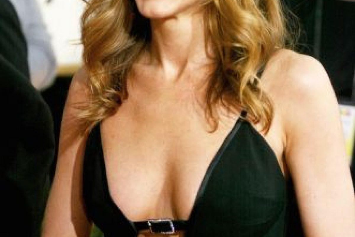 "Jennifer Aniston saltó a la fama gracias al personaje ""Rachel"" en la serie ""Friends"" Foto:Getty Images. Imagen Por:"