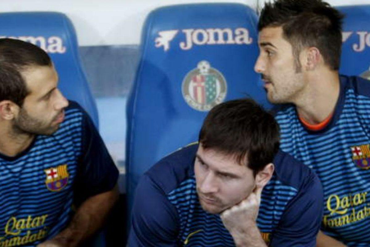 Lionel Messi también ha probado la molestia de estar en la banca Foto:Getty. Imagen Por:
