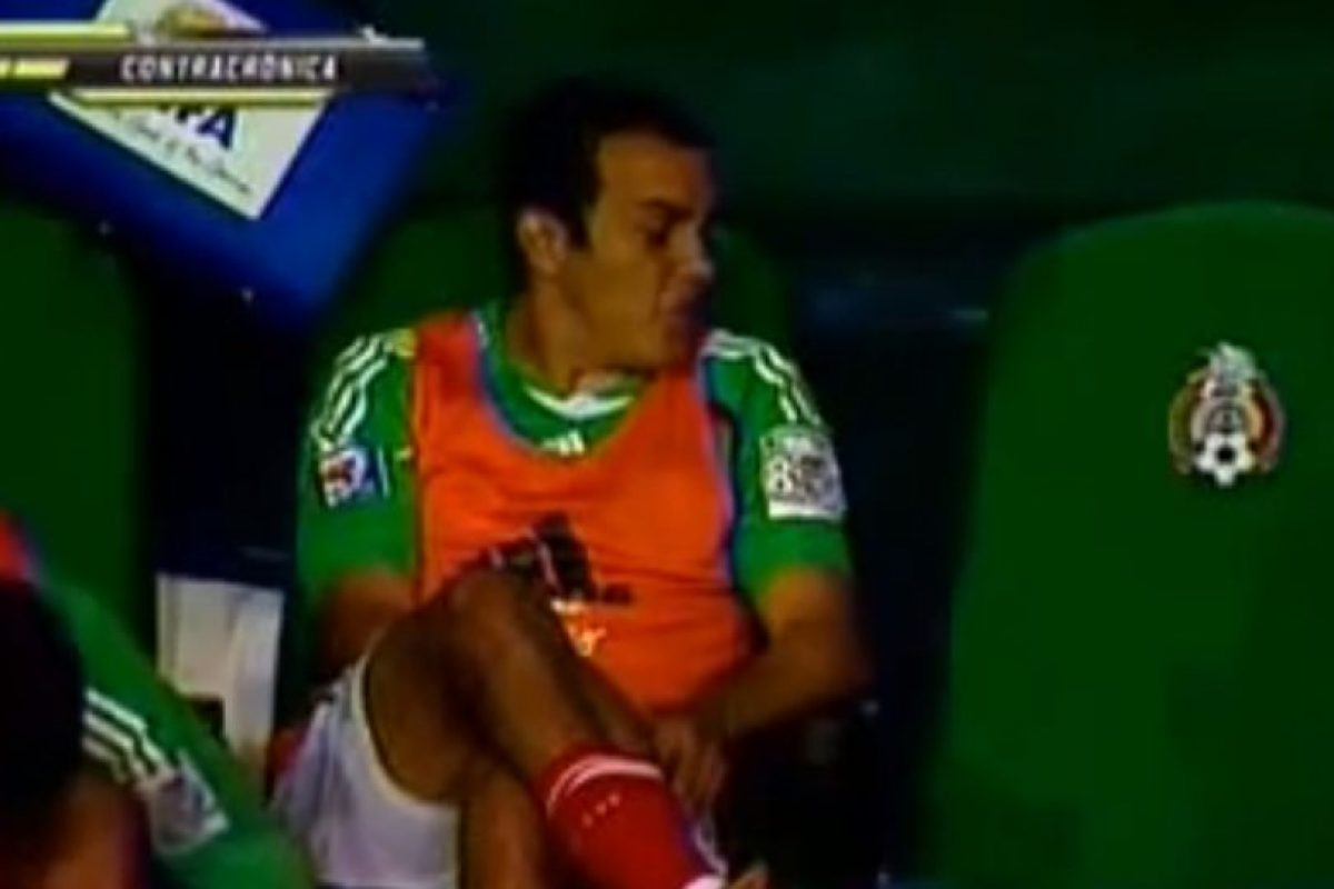 Cuauhtémoc Blanco Foto:Youtube: Azteca Deportes. Imagen Por: