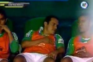 El ídolo mexicano estaba acostumbrado a jugar Foto:Youtube: Azteca Deportes. Imagen Por: