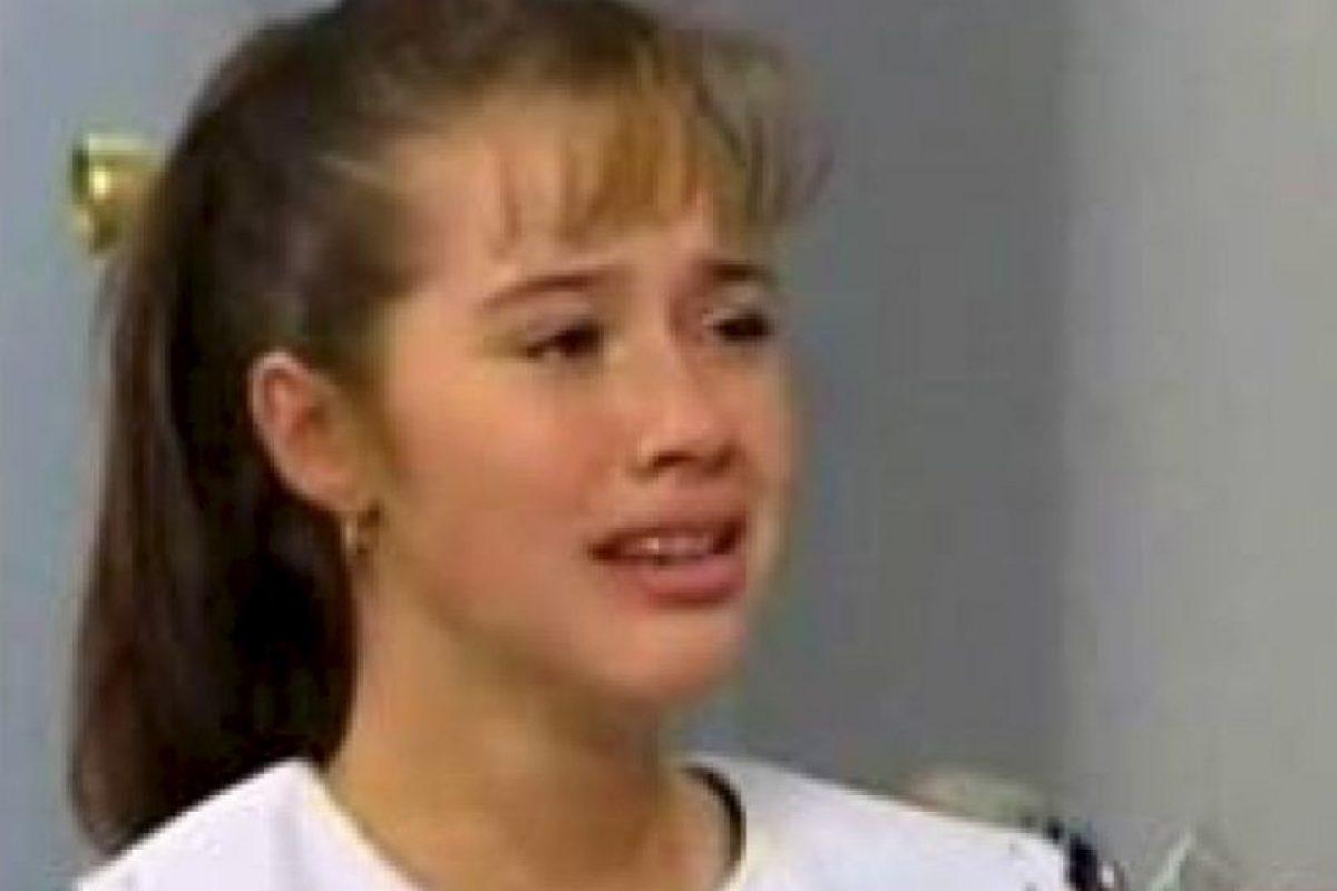 """Yulianna Peniche es actriz de Televisa, mejor recordada con su papel de """"la maldita lisiada"""" en la telenovela """"María la del Barrio"""" Foto:YouTube. Imagen Por:"""