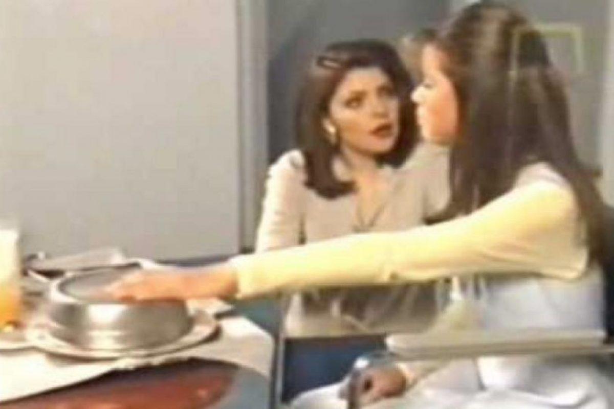 Actualmente en la red se usa mucho su actuación al lado de Itatí Cantoral cuando la regañaba y maltrataba en la novela Foto:YouTube. Imagen Por: