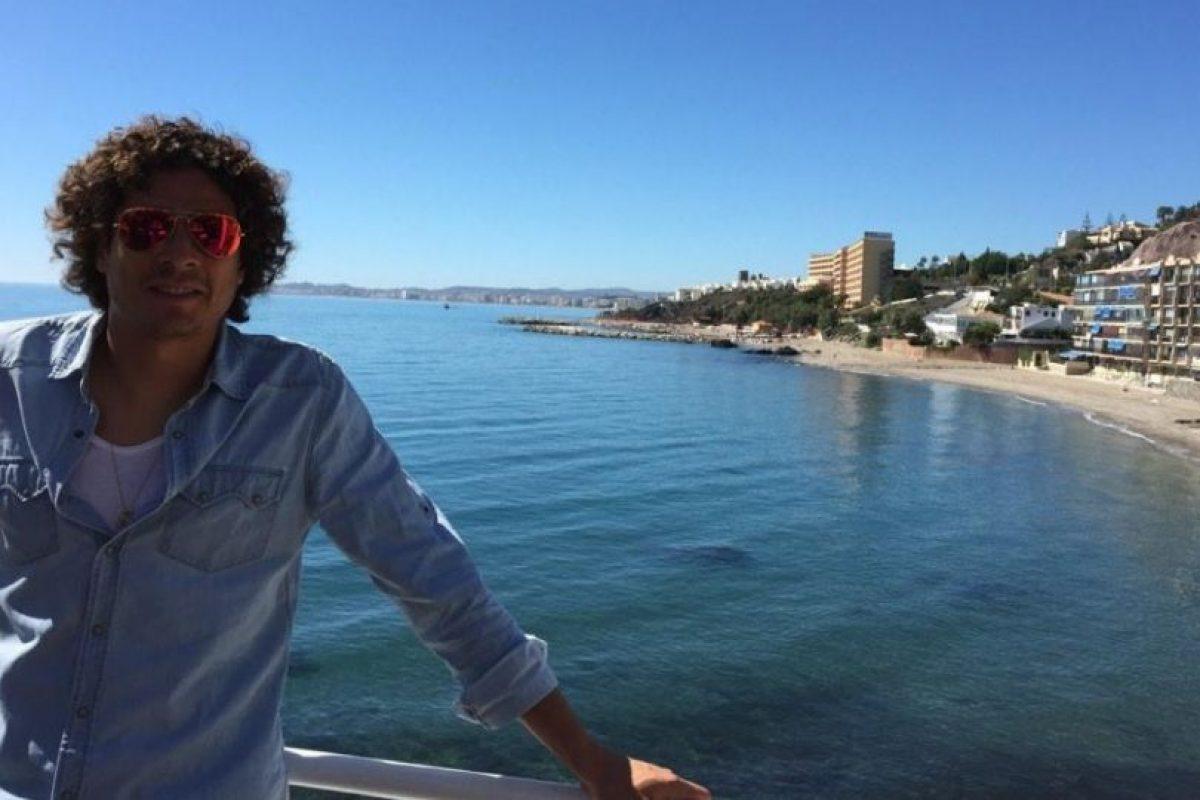 Ochoa tiene 29 años de edad y es miembros del Málagra español. Foto:twitter.com/yosoy8a. Imagen Por: