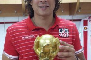 Guillermo Ochoa (México) Foto:twitter.com/yosoy8a. Imagen Por: