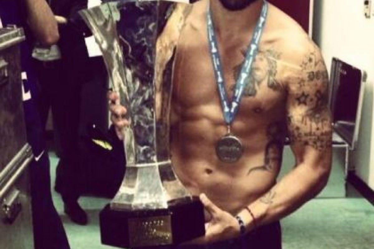 Lavezzi tiene 29 años de edad y es figuras del PSG francés. Foto:twitter.com/PochoLavezzi. Imagen Por: