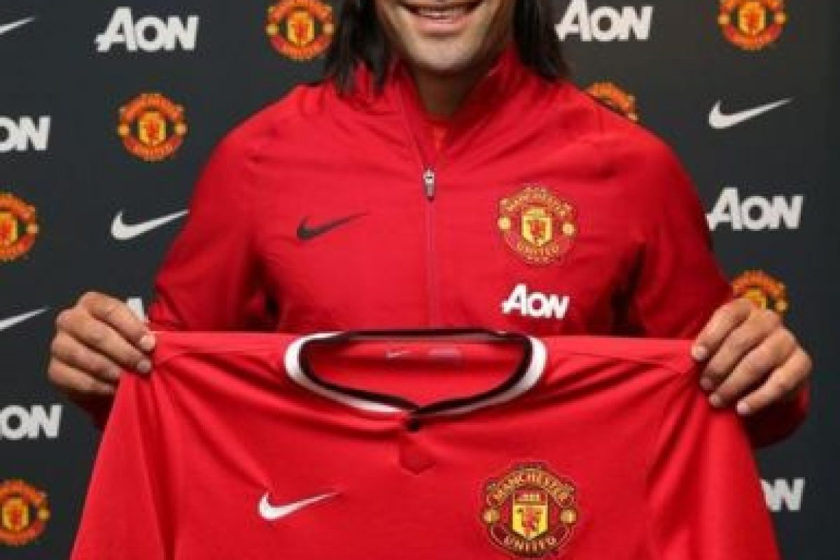 Falcao García tiene 28 años de edad y forma parte del Manchester United de la Premier League inglesa. Foto:twitter.com/FALCAO. Imagen Por: